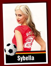 Sexy Soccer Girl Sybella auf VISIT-X
